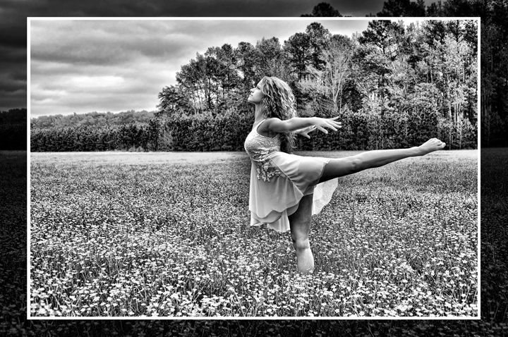 Field of Dreams B&W - Tazz Anderson ~ Through The Lens