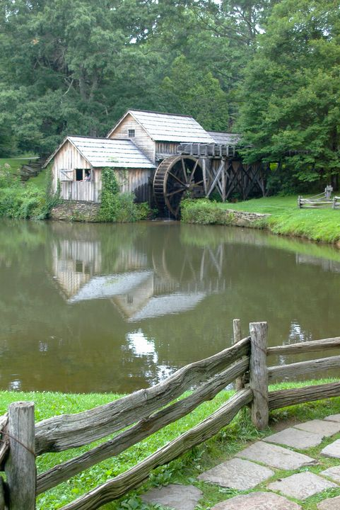 Mill, Blue Ridge Parkway - ERNReed