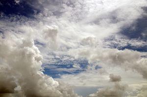 Dramatic cloudy sky