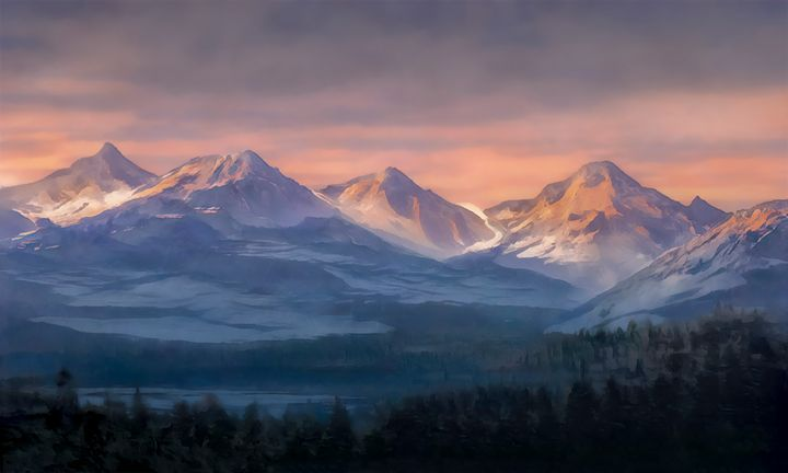 Glacier Peak, Washington State - Sandner Art