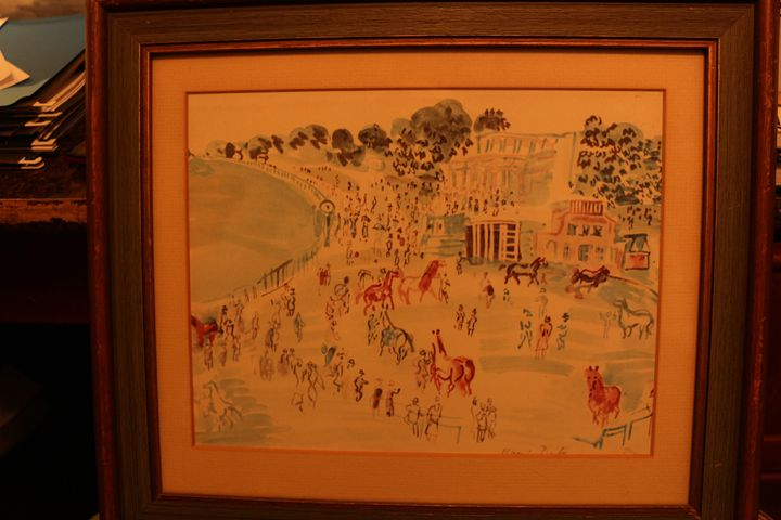 RAOUL DUFY Race Day - Marion N. Cothran Jr