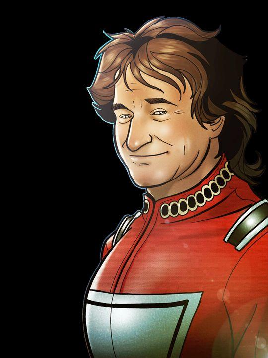 Robin Williams Clip Art - Denver Lightning