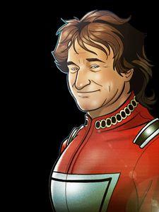Robin Williams Clip Art