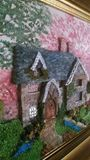 Cottage Sculpture Painting