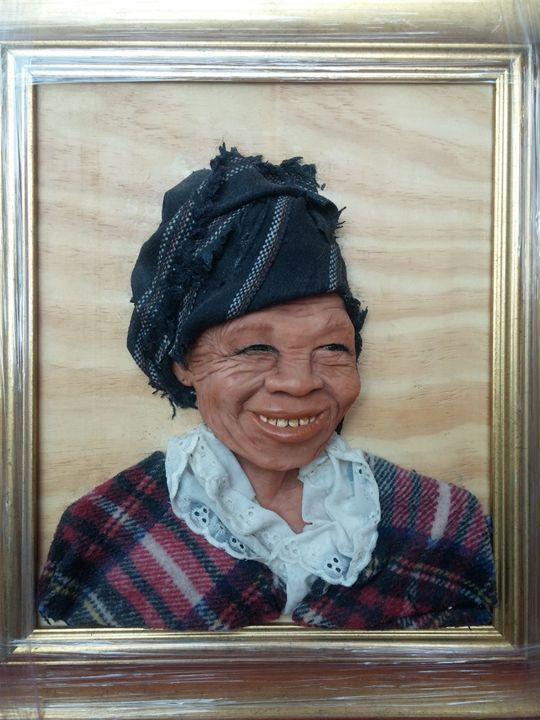 African woman 1 - Sandra's Art Creations