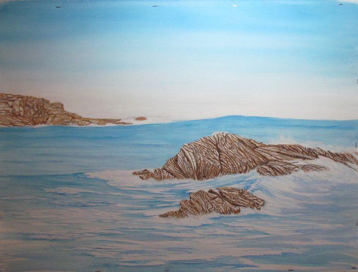 Open Ocean at Montana de Oro - John Hazel Jr
