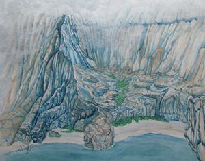 Na Pali Coast through the Mist - John Hazel Jr
