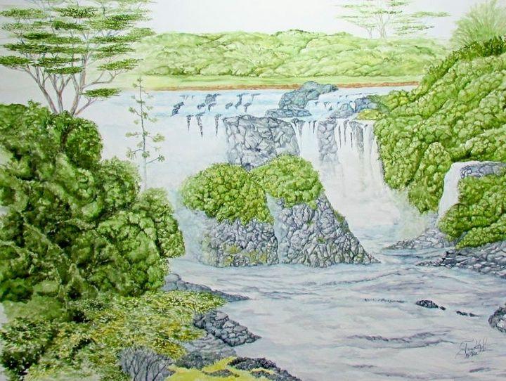 Pe'e Pe'e Falls - John Hazel Jr