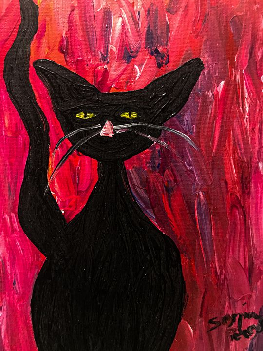 Black Cat #4 - Sisu Art
