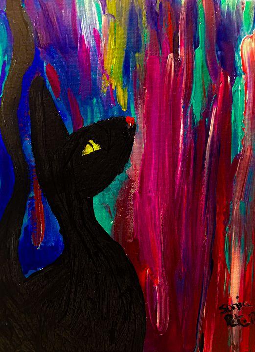 Black Cat #3 - Sisu Art