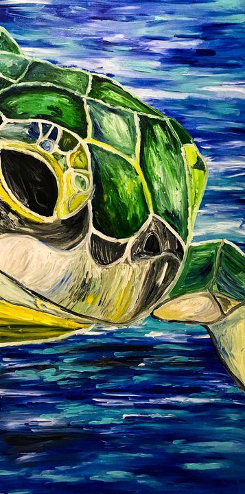 La Tortuga - Sisu Art