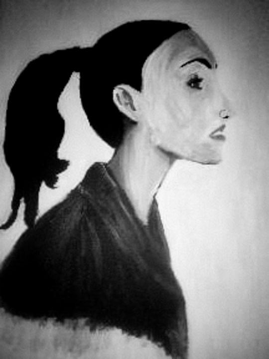 Portrait of a woman - Sisu Art