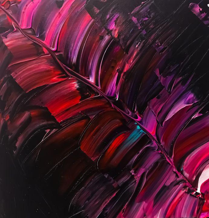 Colorful Feather - Sisu Art