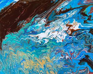 The Waves of Change - Sisu Art