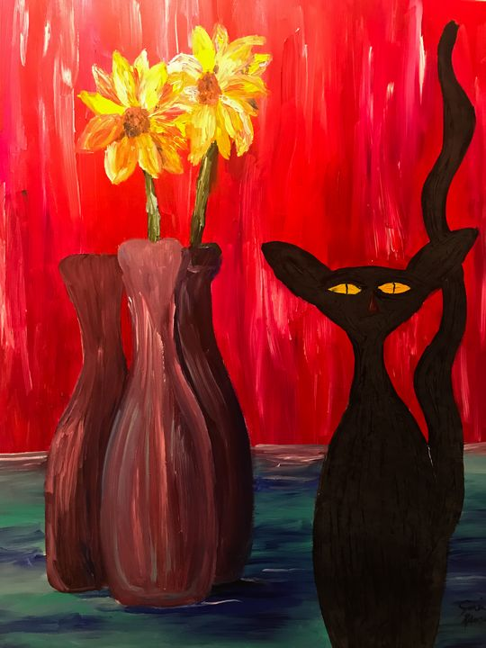 Black Cat - Sisu Art