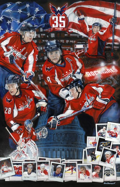 35th Anniversary Washington Capitals - John Kiernan