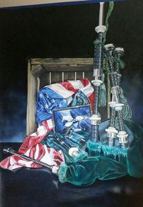 Pipes and drum - John Kiernan