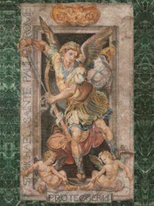 St. Michael art - John Kiernan