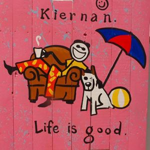 life is good; kiernan