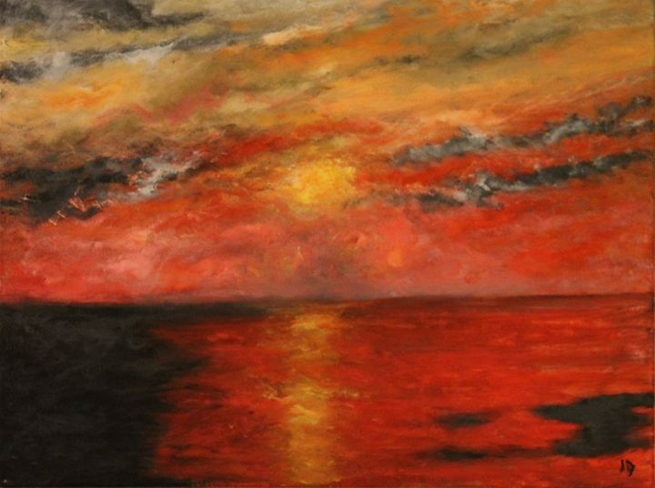 The Red Sea - Art by Joanna DeRitis