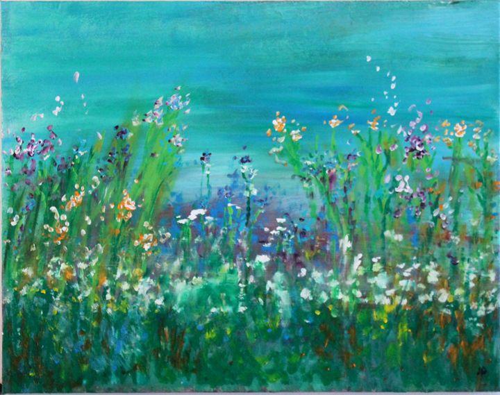 Spring Bloom - Art by Joanna DeRitis