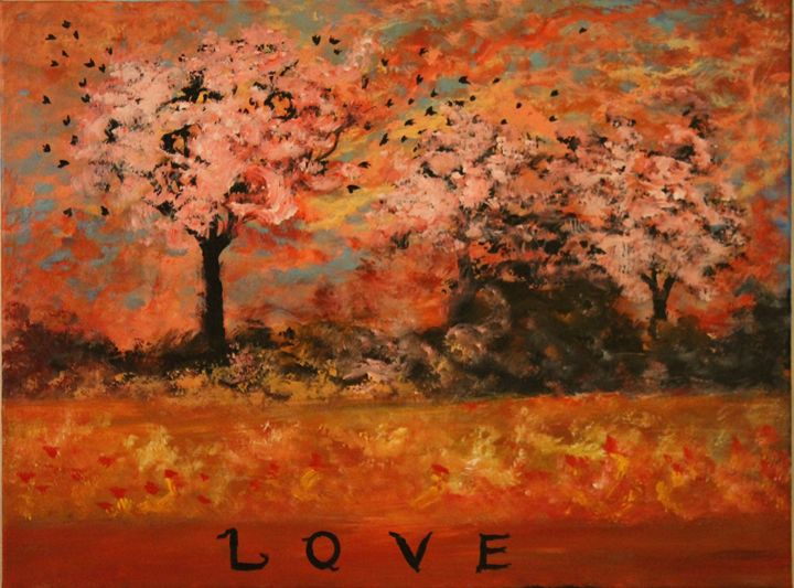The love painting - Art by Joanna DeRitis