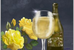 Chardonnay and Roses