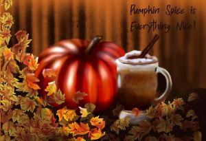 Pumpkin Spice Still Life