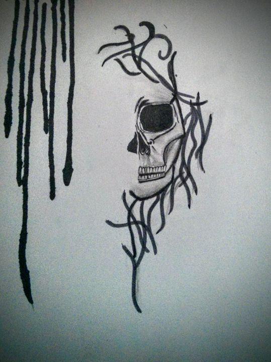 Skull - Gulsk Arts