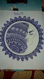 Sun in woman