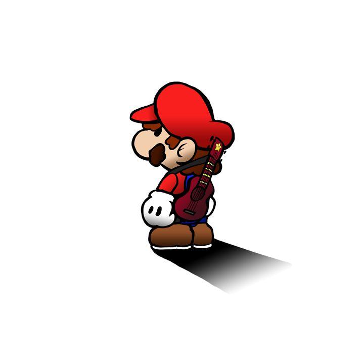 Ukulele Mario - Robert Chapman Artworks