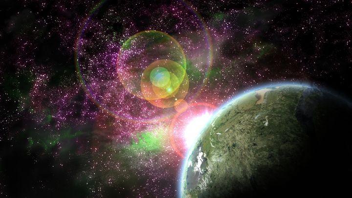 Colorful Stars - Robert Chapman Artworks