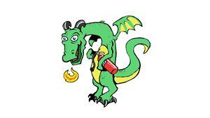 Fire Extinguisher Dragon