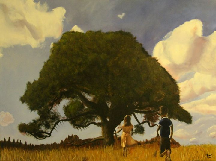Forrest and Jenny's Tree - Andrews Handmade Art