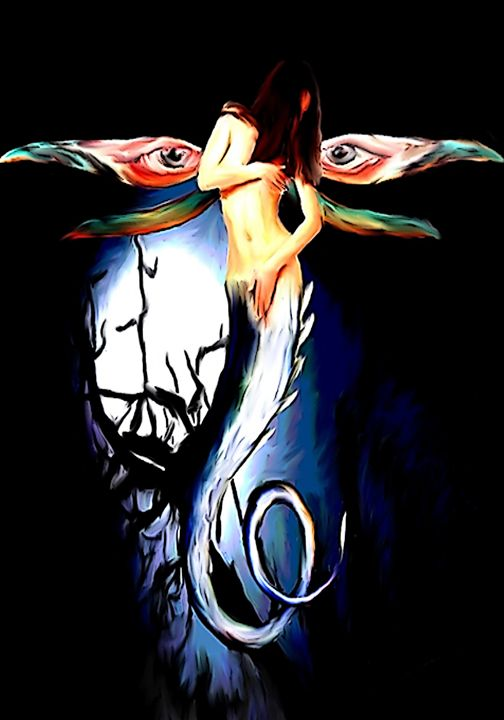 Lady Dragon Fly - Indestructible Art
