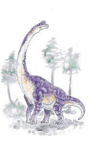 Brachiosaurus - Kayla Clifford