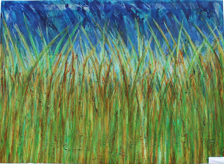 Autumn Rusting Grass - Alfonso Baldari