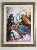 Monsoon Wedding Folk Painting