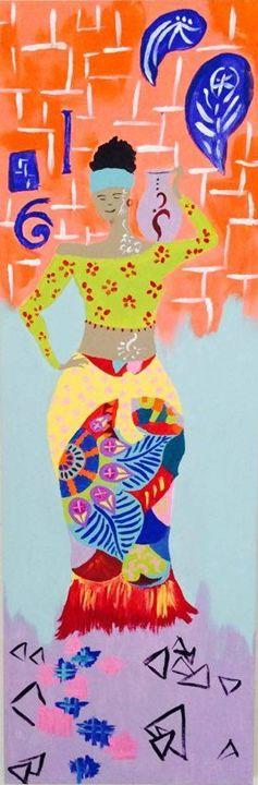 """belle femme"" - AJ ARTS"