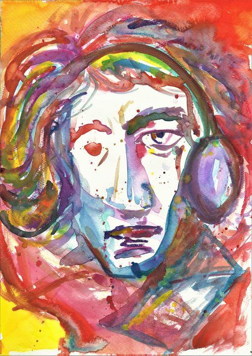 Beethoven - Variation 9 - Felizia Bade ArtGallery