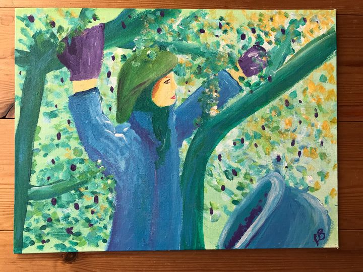 Olive Tree - Felizia Bade ArtGallery