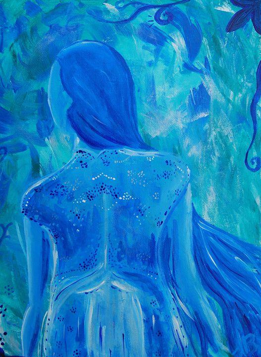 Blue Fairy - Felizia Bade ArtGallery