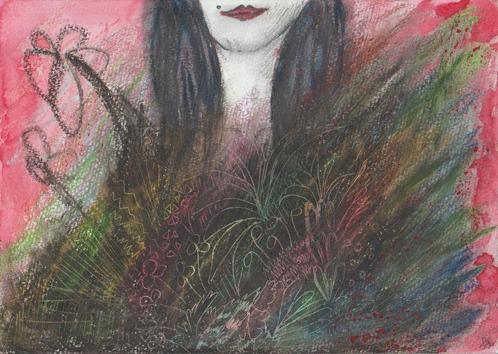 Flowergirl - Felizia Bade ArtGallery