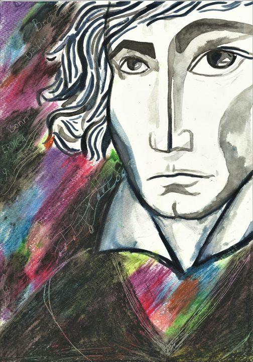 Beethoven - Variation 11 - Felizia Bade ArtGallery