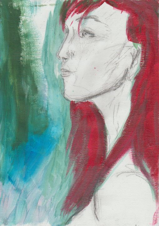 Redhead - Felizia Bade ArtGallery