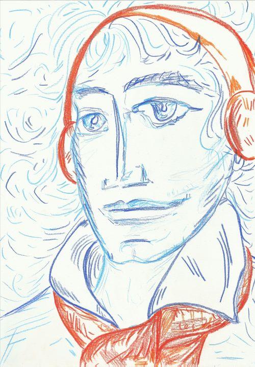 Young Beethoven - Variation 14 - Felizia Bade ArtGallery