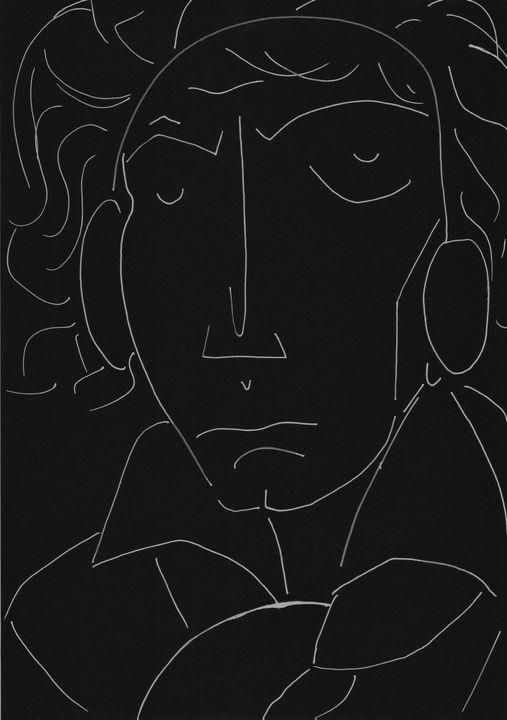 Beethoven Minimal - Variation 4 - Felizia Bade ArtGallery