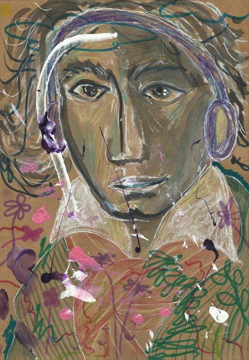 Floral Beethoven - Variation 3 - Felizia Bade ArtGallery