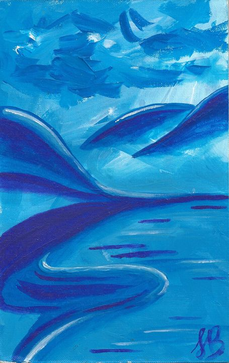 Blue Harmony - Felizia Bade ArtGallery