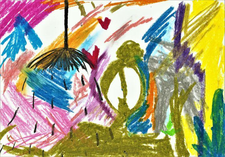Flowerparty - Felizia Bade ArtGallery